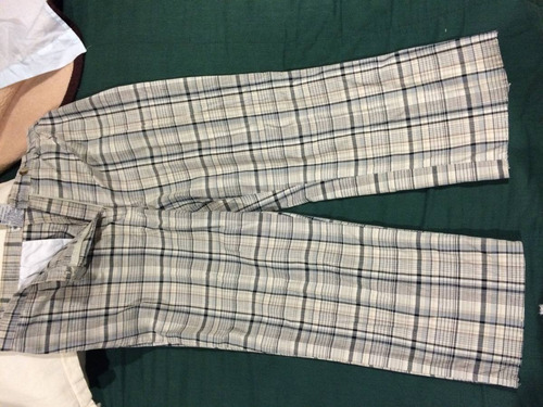 dos pantalones capri dama talla 9-10