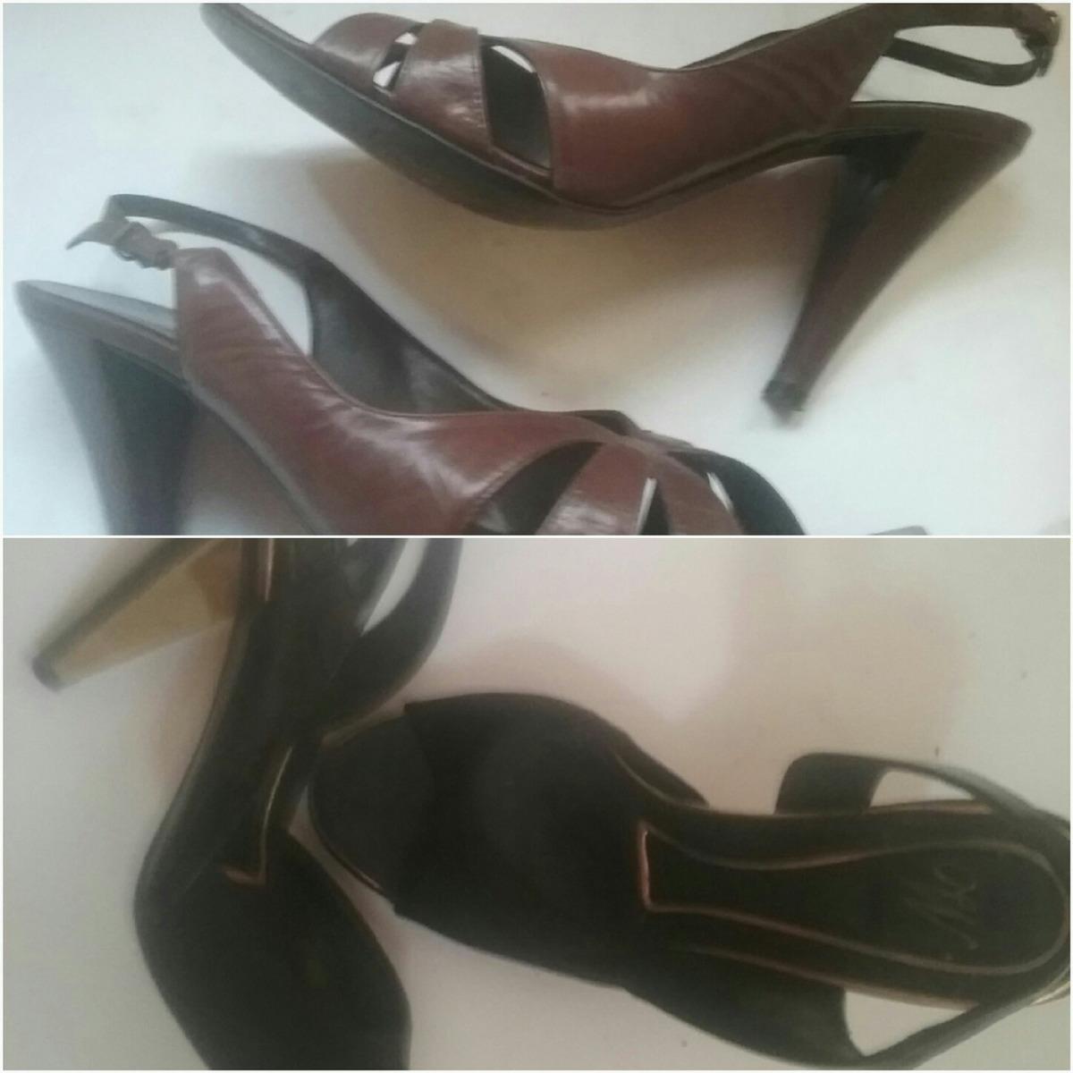 7a4abf74 ... zapatos de tacon # 3, negros zara y café piel. Cargando zoom.