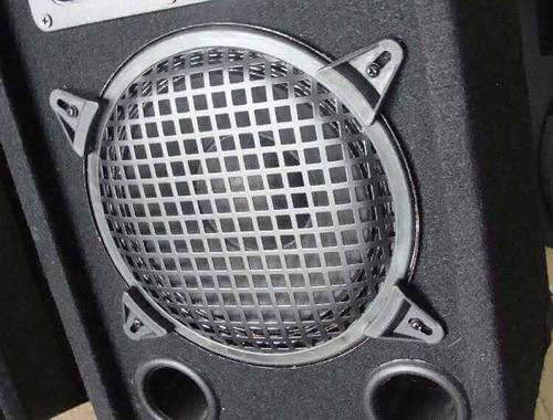 dos parlantes 8 pulg  amplificador incorp. directo a la pc