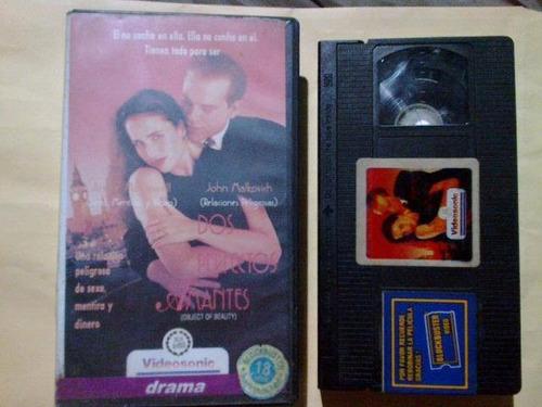 dos perfectos amantes videocasette antiguo