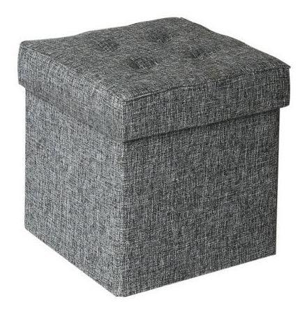 dos puff otomano asientos ideal para la sala / soy tienda
