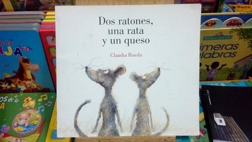 dos ratones una rata y un queso - rueda - usado - devoto