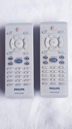 dos reproductores de dvd philips a reparar con control