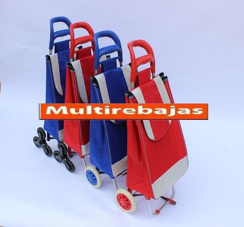 dos ruedas carrito coche de compras plegable bolso de compra