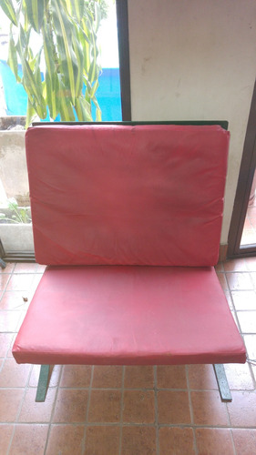 dos sillones para jardin