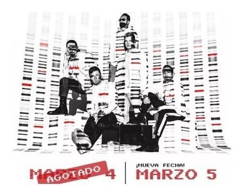 dos x 70 mil  backstreet boys chile -cancha  | 05/03