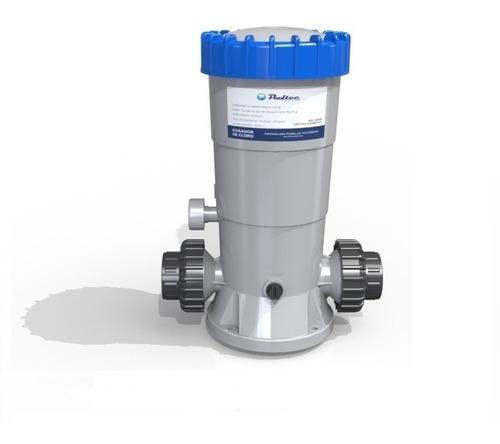 dosador cloro automatico pooltec para piscinas poço