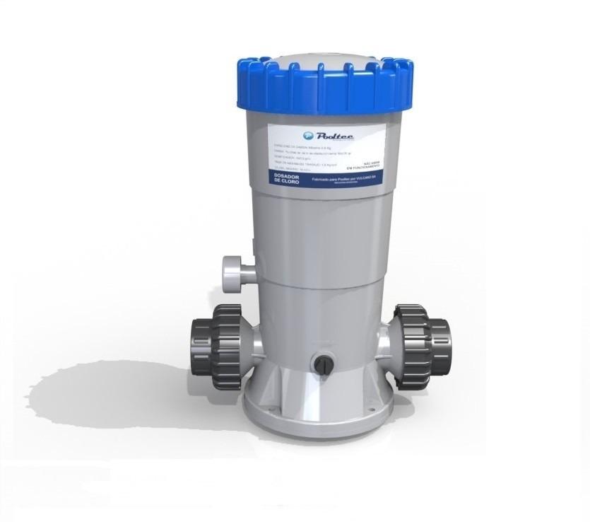Dosador de cloro automatico pooltec para piscinas r for Cloro para piscinas