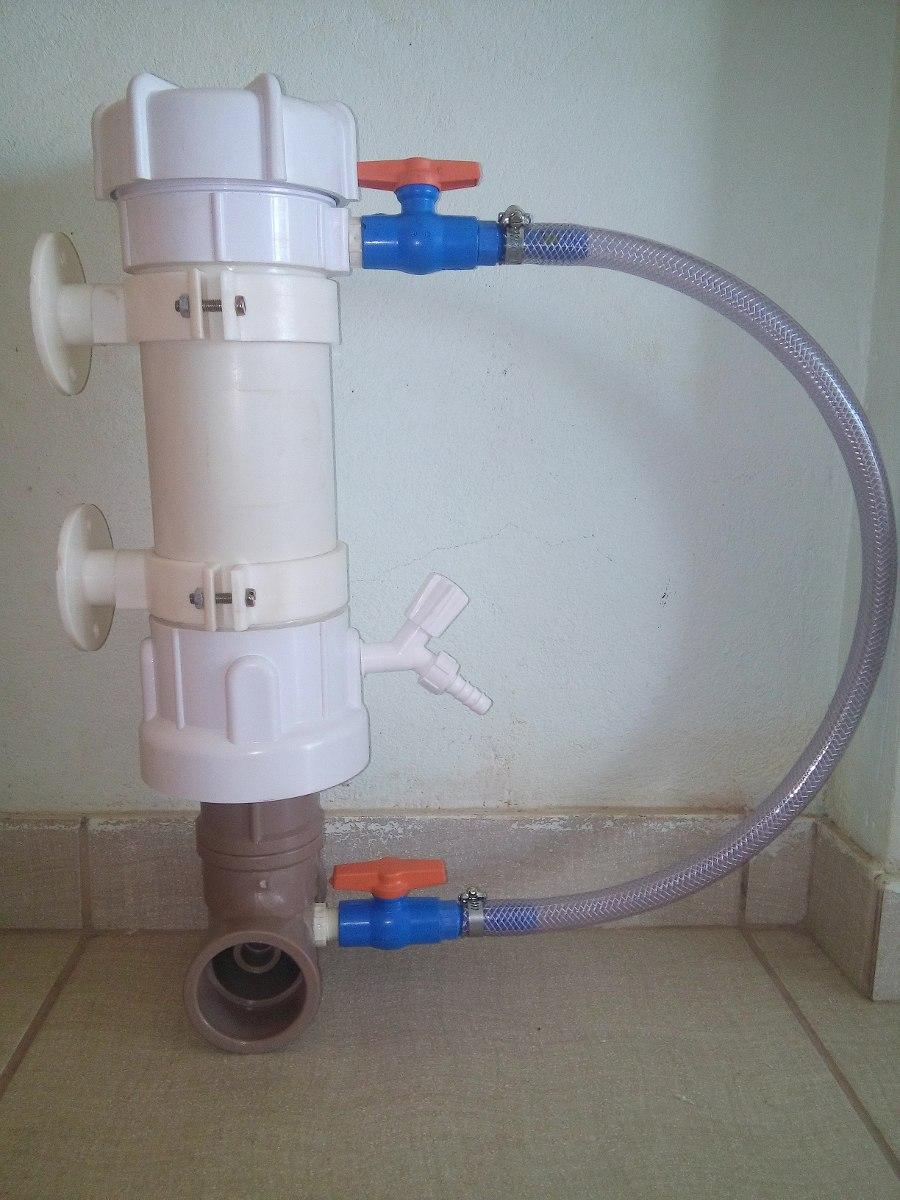 Dosador de baixo custo automatizado de água sanitária para desinfecção de água pluvial a fins não potáveis 9