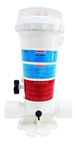 dosador de cloro - clorador sodramar para piscinas