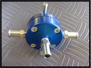 dosador de combustivel basico c/ regulagem azul