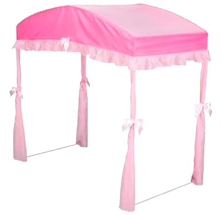 Dosel pabell n toldo para cama infantil toddler rosa en mercado libre - Dosel para cama infantil ...