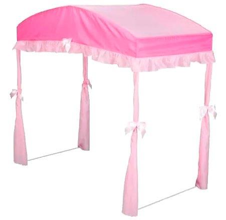 dosel pabellón toldo para cama infantil toddler, rosa