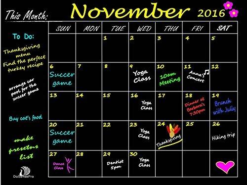 Dosensepro mensual calendario pizarra planner organizador 1 en mercado libre - Pizarra calendario ...