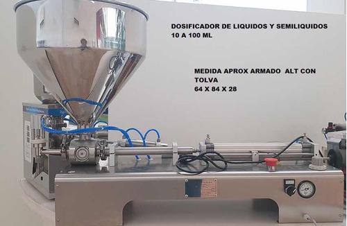 dosificador de líquidos y semi líquidos
