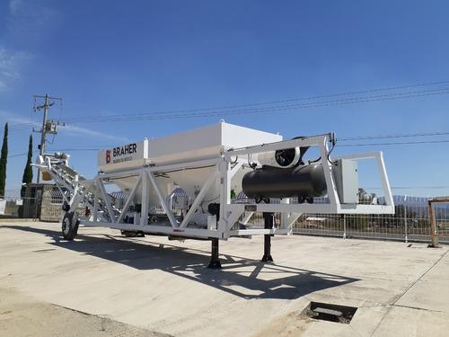 dosificadora de concreto móvil  br-3000 año 2020 48 m3 x hr