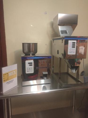 dosificadora y llenadora de polvos y granos 20-1200 gr