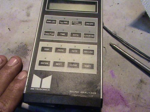 dosimetro metrosonic db-308 para refacciones