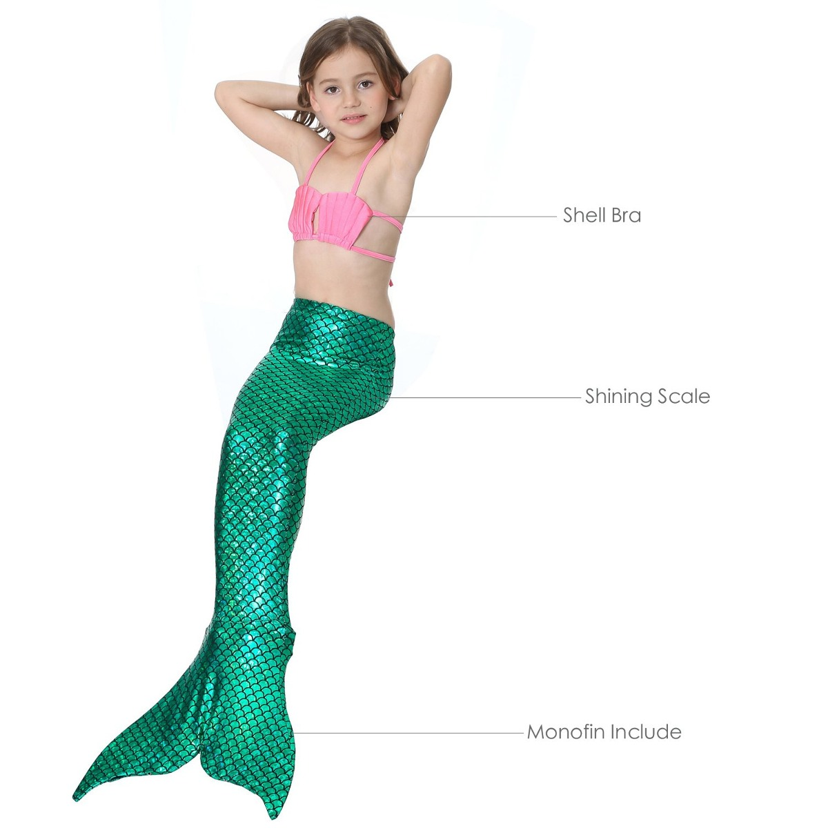 8e034e7c4 Dotofin Mermaid Tails Traje De Baño Con Aleta Traje De Baño ...