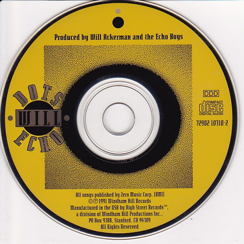 dots will echo - (cd - made in us) - (1991)