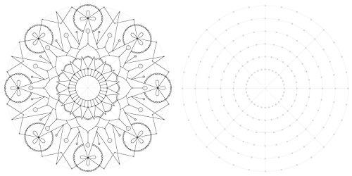 Dottodoodle Mandalas Para Dibujar Y Colorear