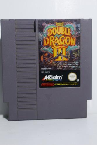 double dragon iii - juego original nintendo nes