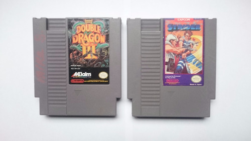 double dragon iii + strider nes
