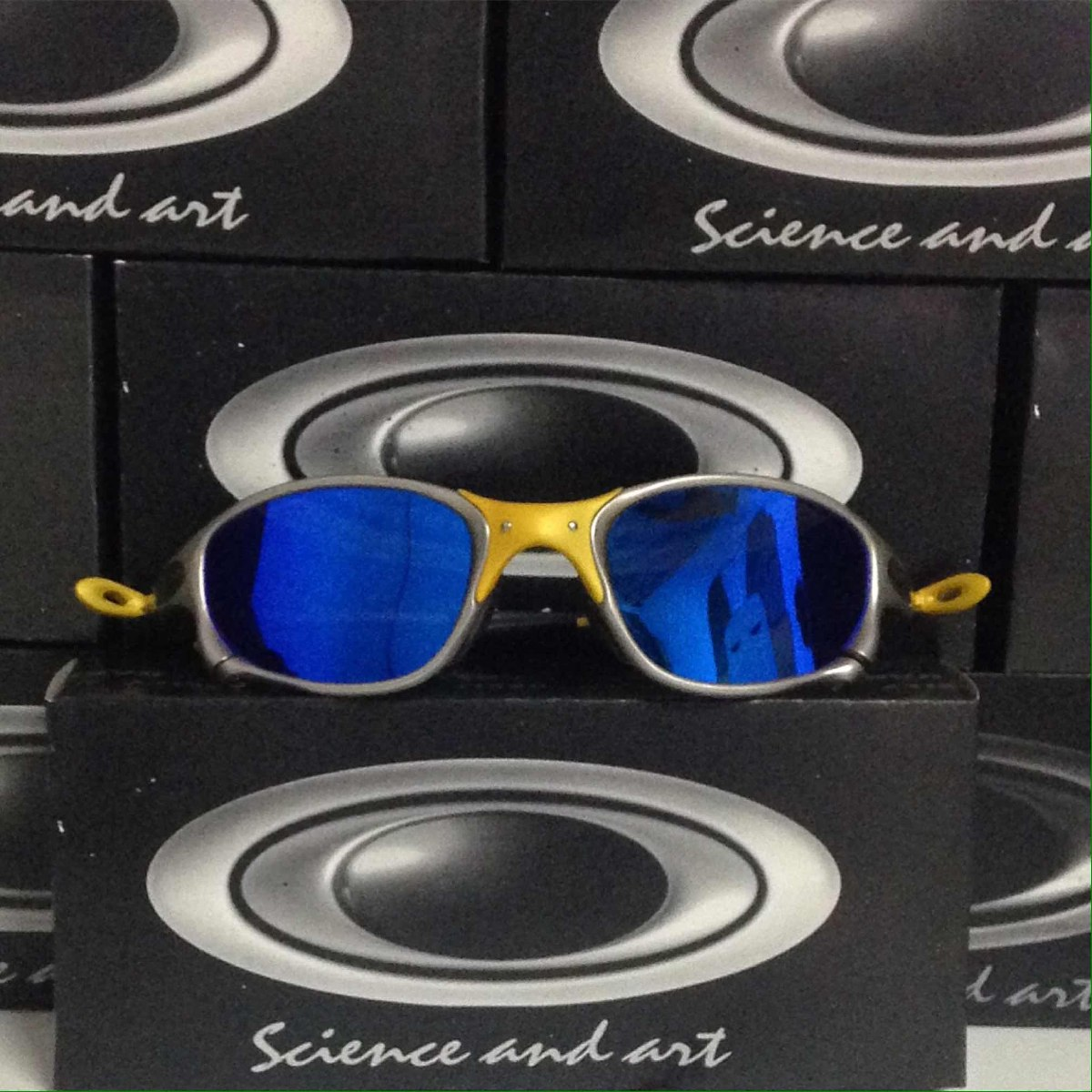 24b757ad6d571 Double X 24k Óculos Oakley Rp - R  177,00 em Mercado Livre