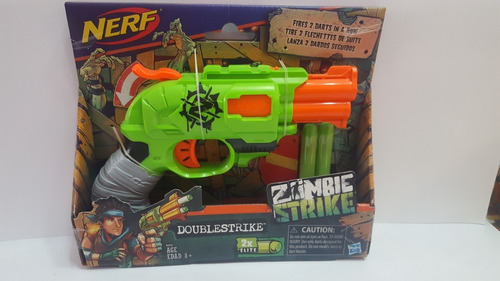 doublestrike nerf pistola de dardos