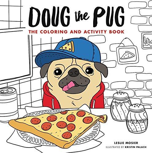 Doug El Pug El Libro De Colorear Y Actividad - $ 105.700 en Mercado ...