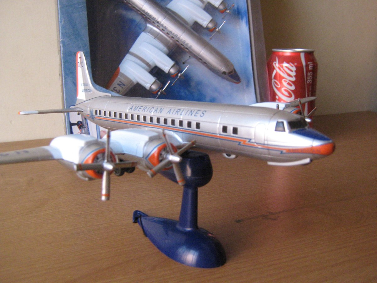 Douglas Dc 7 American Airlines Esc 1 130 Marca New Ray