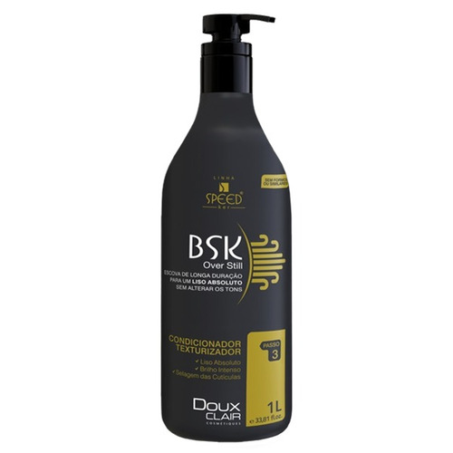 doux clair progressiva bsk + óleo bel argan + frete grátis