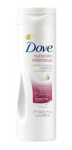dove crema corporal nutricion intensiva 400ml unilevercp