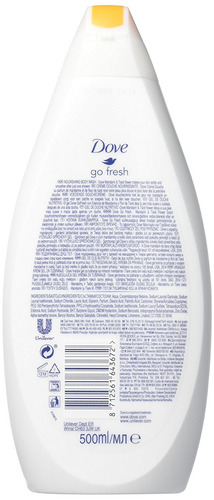 dove go fresh body wash, revitalizar, mandarín y tiare flor