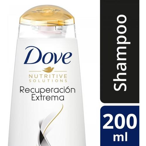 dove shampoo recuperacion xtrema 200ml unilever