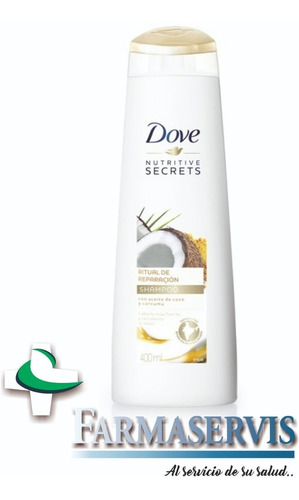dove shampoo x400ml variedades de fragancias farmaservis