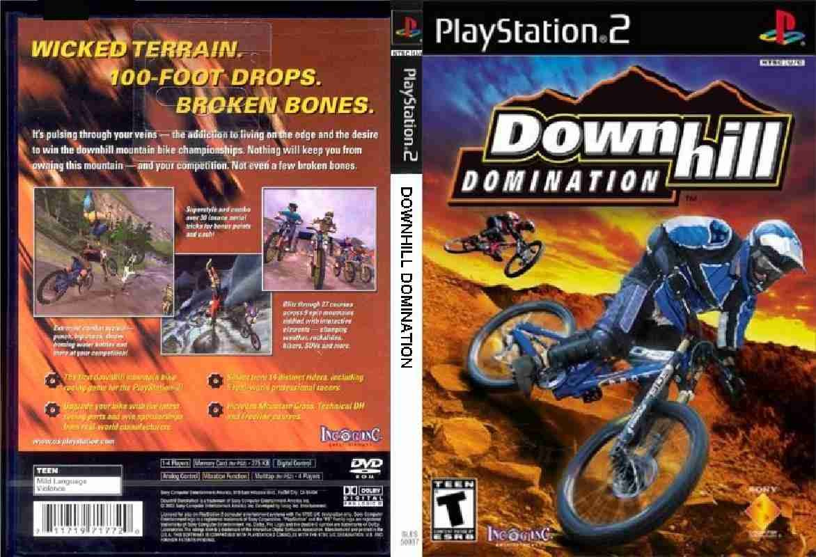 Domination downhill ps2
