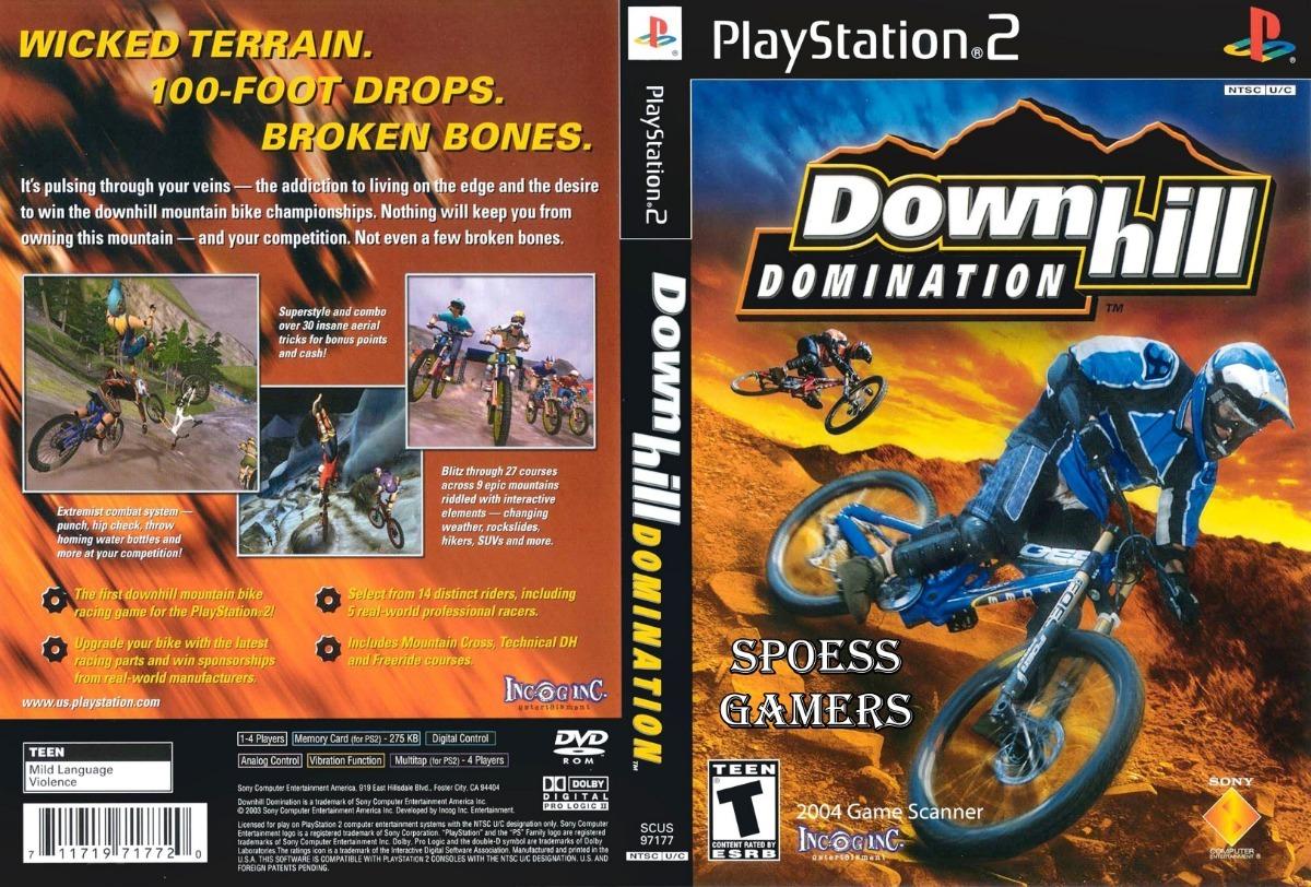 Downhill domination cheats ps2