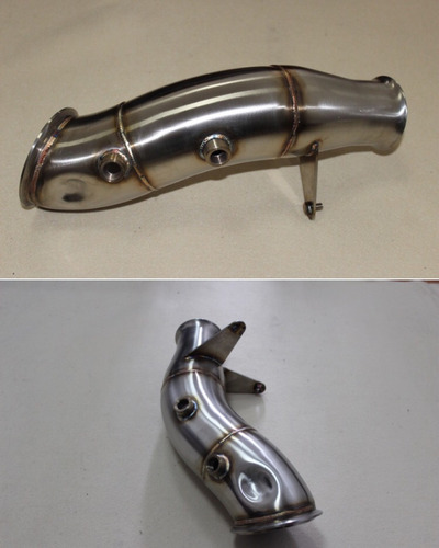 downpipe bmw m235 f30 335 m135 turbo acero inox