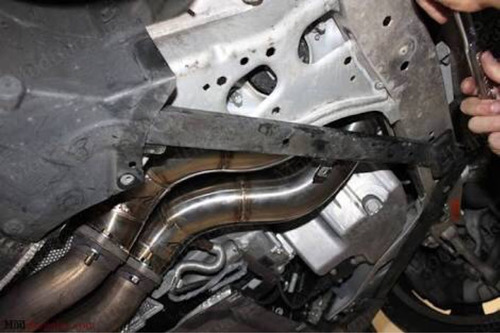 downpipe bmw n54 135 335 turbo acero inoxidable