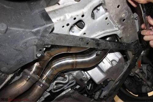 downpipe bmw n54 135 335 turbo acero inoxidable gcp