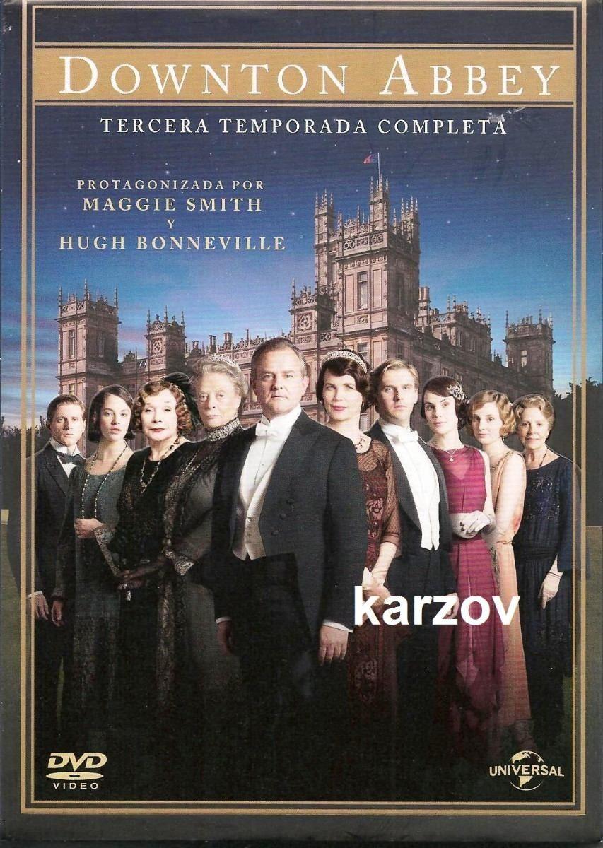 Downton Abbey Paquete Con La Temporada 1 2 3 Y 4 Serie Dvd ...