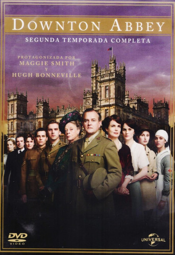 downton abbey segunda temporada 2 dos dvd
