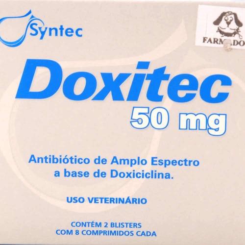 doxitec 50mg - 16 comprimidos