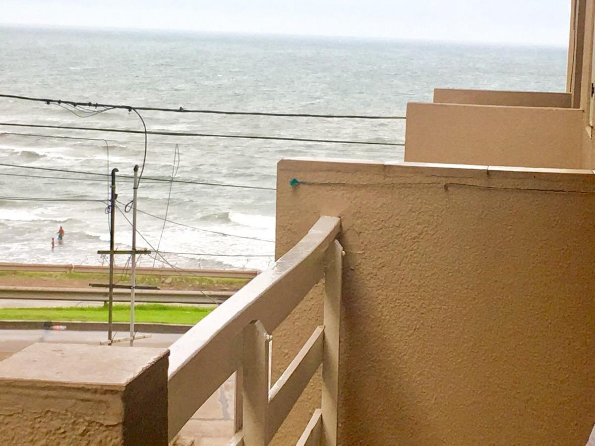 dpto 2 amb c/ balcon fte al mar