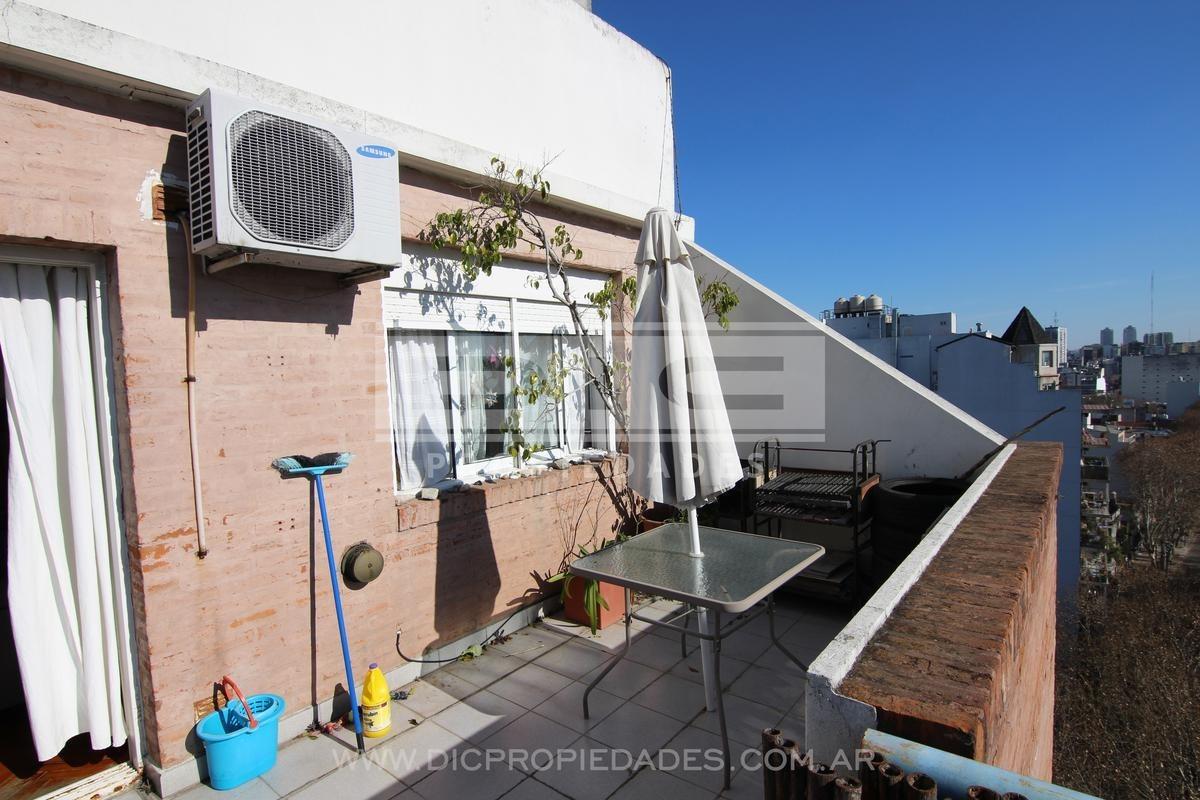 dpto 2 amb c/espectacular terraza - almagro