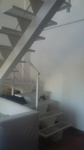 dpto 2 amb tipo dúplex de 50 m2 con cochera descubierta