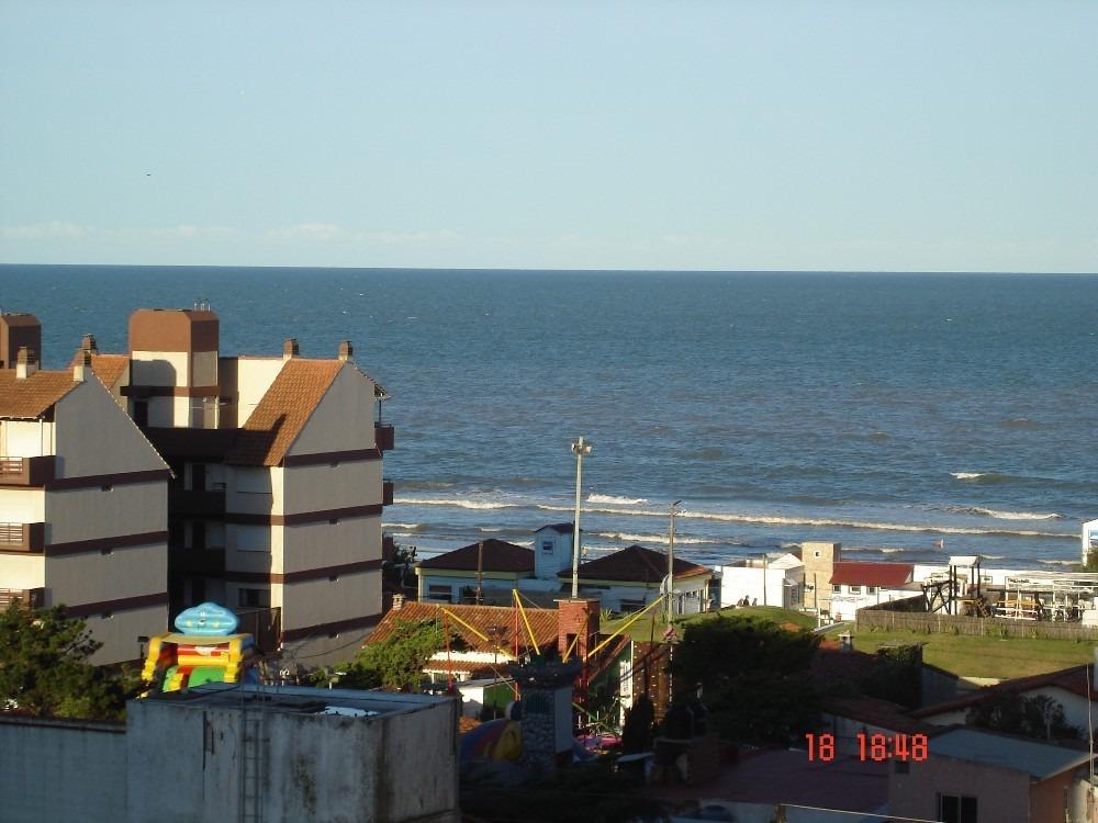 dpto 2 ambientes iimpecable , 150 mts del mar/ vista al mar