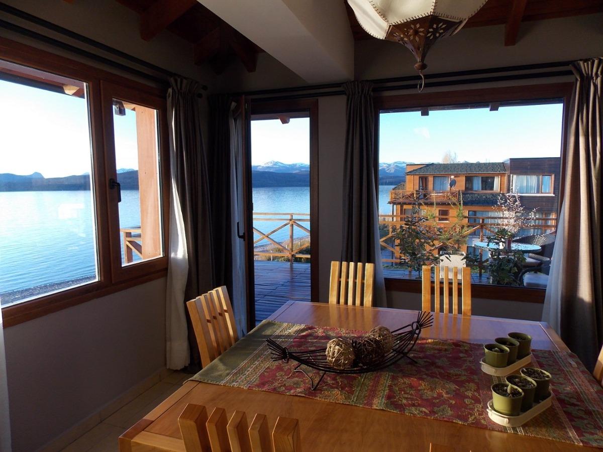 dpto premium-increible vista panoramica sobre costa de lago