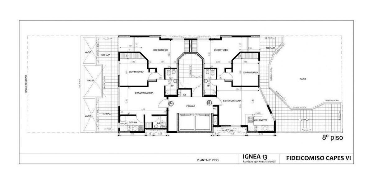 dptos 1 y 2 dormitorios - ignea xiii